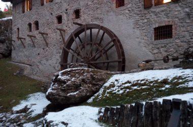 Ruota Museo del Mulino - Castione della Presolana Inverno