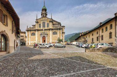 Sagrato Basilica Gandino