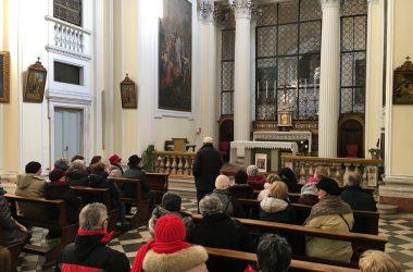 Sagrato della chiesa di Sant'Anna Albino