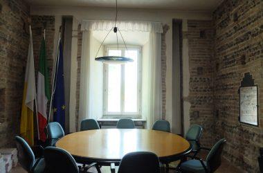 Sala giunta comunale Castello Rocca - Cologno al Serio