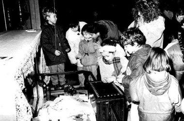 Santa Lucia a Bergamo 40 anni fa