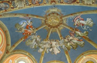 Santuario della madonna della Scopa - Osio Sopra Affresco 1400