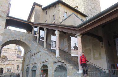 Scala Palazzo del PodestàBergamo