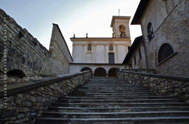 Scala monastero di Astino