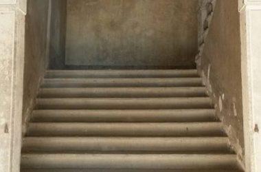 Scalinata Palazzo Giovanelli - Gandino