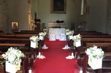 Sposarsi nella Chiesa di San Pietro in vincoli Bergamo