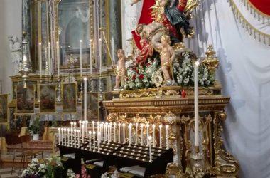 Statua Madonnina Parrocchia di Leffe