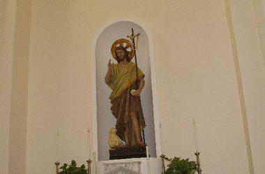Statua Organo Serassi della Chiesa parrocchiale di San Giovanni Battista in Palazzago
