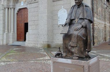 Statua San Bernardino - Lallio BG