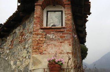 Sul muro della Chiesa di San Gottardo - Gandino