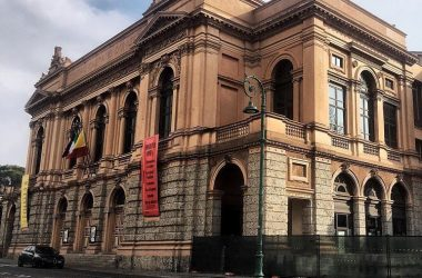 Teatro Donizetti Bergamo prima della rustrutturazione