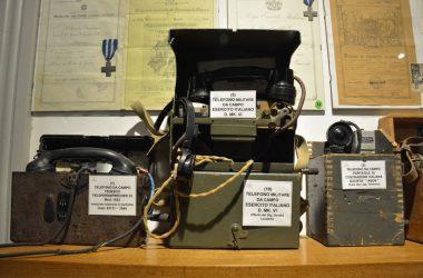 Telefono Militare Museo del Soldato Zogno