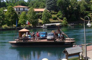 Traghetto di Leonardo - Villa Adda
