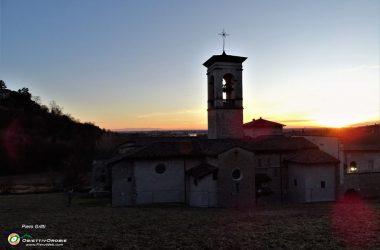 Tramonto al Monastero di Astino