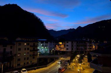 Tramonto in Val Vertova