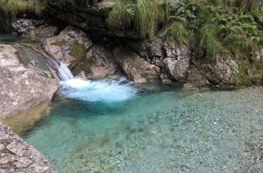 Val Vertova le cascate