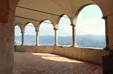 Veduta Santuario di San Patrizio - Colzate