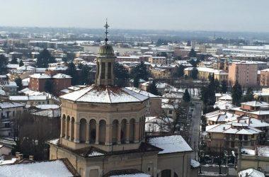 Veduta dal Campanile della Basilica di San Martino del Santuario della Madonna delle lacrime di Treviglio