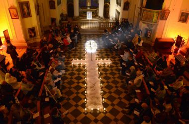 Veglia chiesa di Sant'Anna Albino