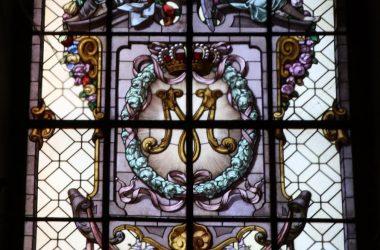 Vetrata nel Santuario della Madonna delle Lacrime a Treviglio