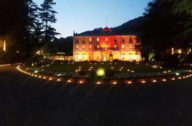 Villa Acquaroli di sera - Carvico