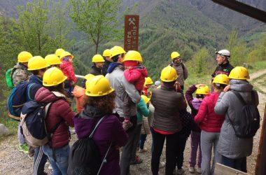 Visitare le miniere a Gorno Bg