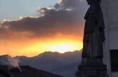 Vista Basilica di Santa Maria Assunta - Clusone -Val Seriana