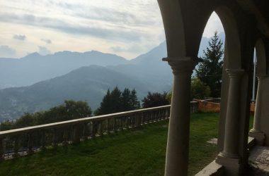 Vista Chiesa di San Giovanni Battista - Fuipiano Valle Imagna
