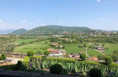 Vista dal Castello Conti di Calepio - Castelli Calepio