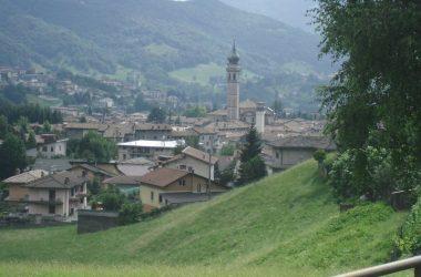Vista della Basilica di Gandino