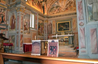 altare Chiesa di San Bernardino - Lallio