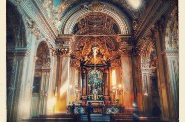 chiesa del monastero di Santa Grata in via Arena.
