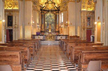 chiesa monastero di Santa Grata in via Arena.