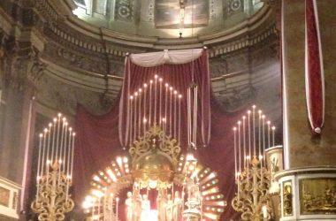stata portata la Madonna dei Campi in parrocchia nel 1946